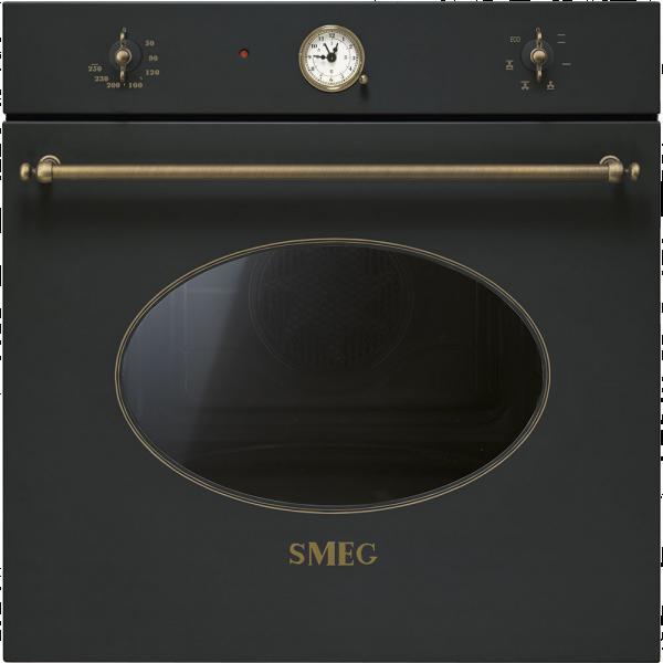 Многофункциональный духовой шкаф, 60 см, Антрацит Smeg SF800AO