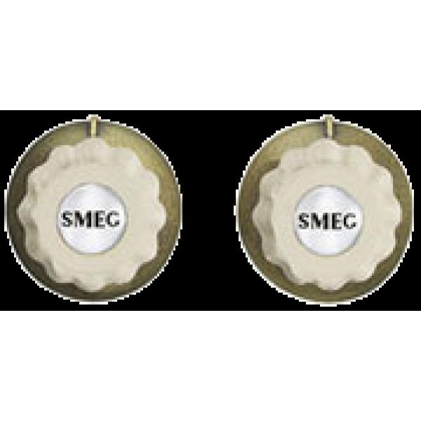 Набор ручек для кофемашин кремовый Smeg MMC745PO