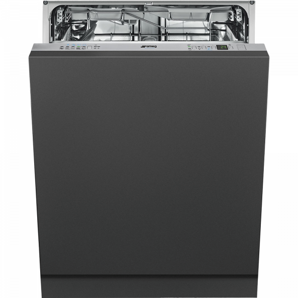 Полностью встраиваемая посудомоечная машина, 60 см, Нержавеющая сталь Smeg STP 364T