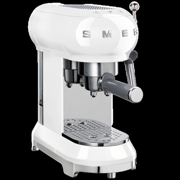 Кофемашина-эспрессо, Белый Smeg ECF01WHEU
