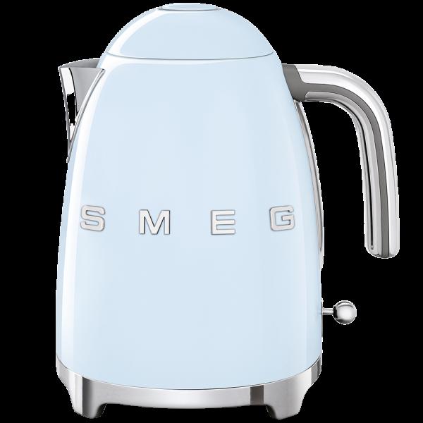 Чайник электрический, объем 1,7 л, Голубой Smeg KLF03PBEU