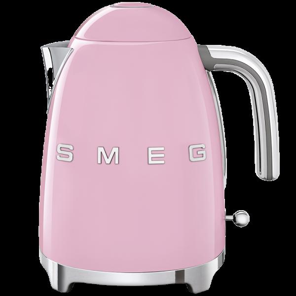 Чайник электрический, объем 1,7 л, Розовый Smeg KLF03PKEU