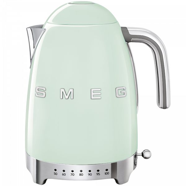 Чайник электрический с регулируемой температурой, Зеленый Smeg KLF04PGEU