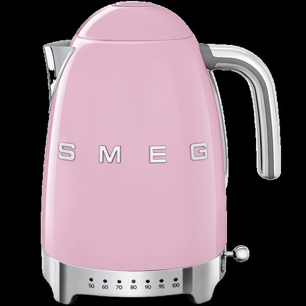 Чайник электрический с регулируемой температурой, Розовый Smeg KLF04PKEU
