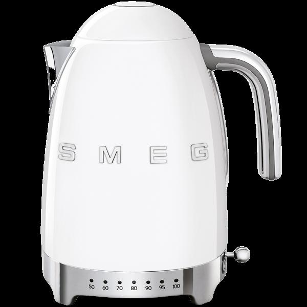 Чайник электрический с регулируемой температурой, Белый Smeg KLF04WHEU