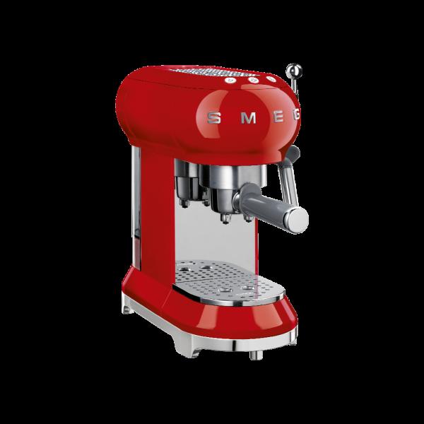 Кофемашина-эспрессо, Красный Smeg ECF01RDEU