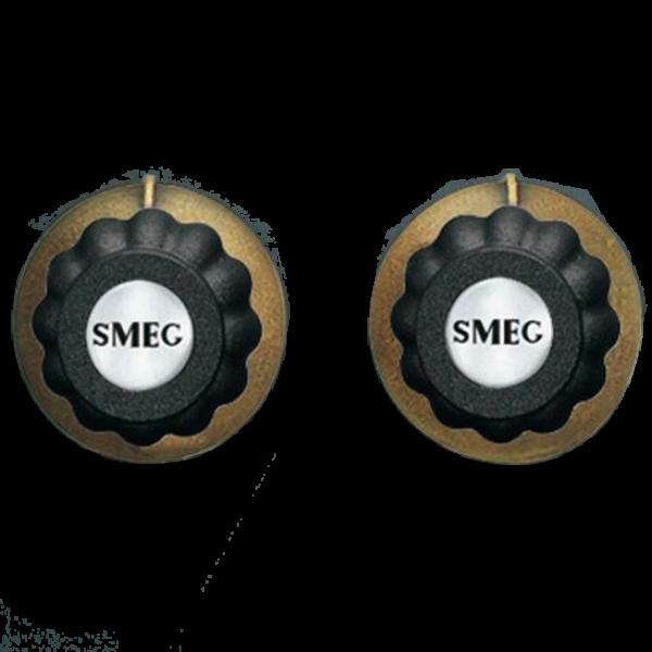 Набор ручек для кофемашин антрацит Smeg MMC745AO
