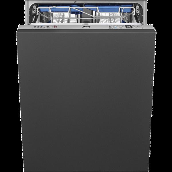 Полностью встраиваемая посудомоечная машина, 60 см, Серебристый Smeg STL67339L