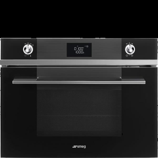 Встраиваемый духовой шкаф, 59,7 см, Чёрный Smeg SF4102MN
